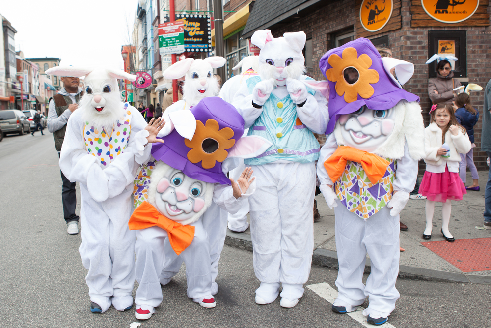 Easter Promenade, South Street, Easter Parade Philadelphia, Easter Bunny Philadelphia