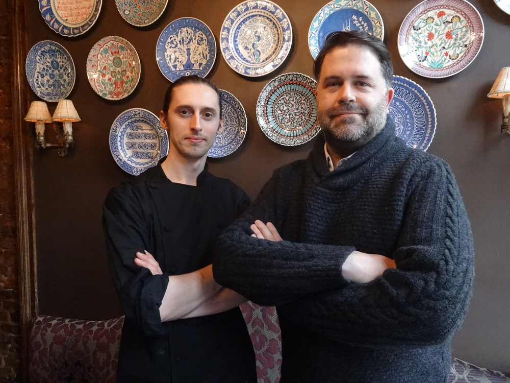Donal McCoy, Matthew Daggett, Serrano, Restaurant, Old City