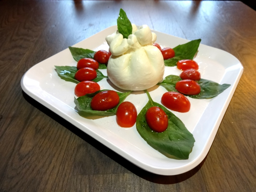 Burrata, Salad, SliCE, Di Bruno Bros, Rittenhouse