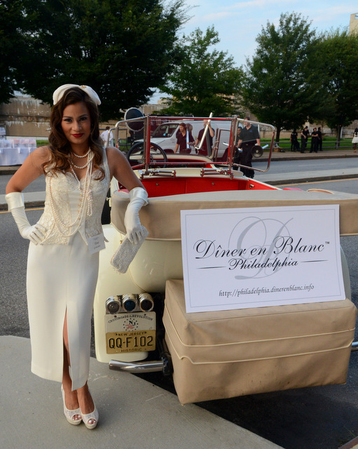 Diner en blanc philadelphia, diner en blanc, pop-up party in white