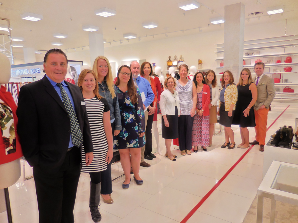Lord & Taylor Bala Cynwyd hosts kick-off breakfast for Shop Chic and Make It County with 11 local charities.