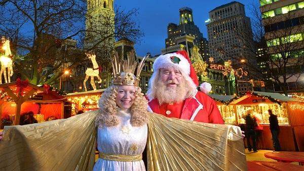 Christmas Village in Philadelphia, Thanksgiving through Dec 28, 2014