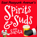 Spirits and Suds with Santa on East Passyunk Wed Dec 10, 2014