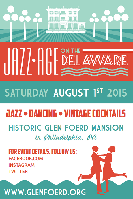 Jazz Age on the Delaware Saturday, August 1, 2015