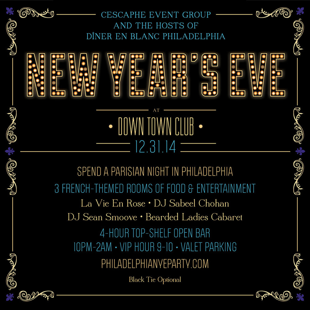 New Year's Eve, Party, Philadelphia, French, Diner en Blanc