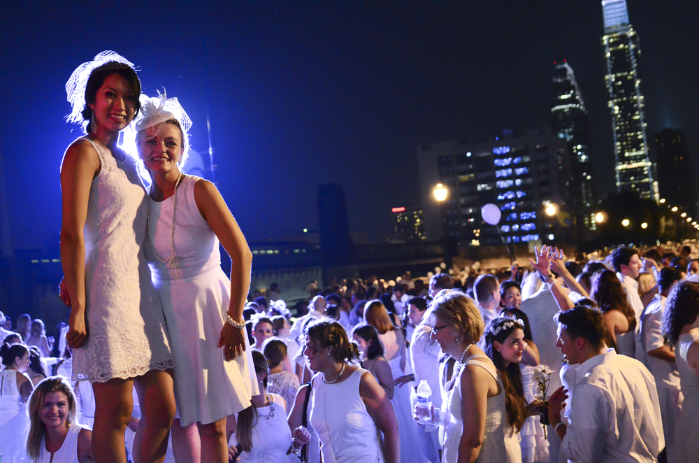 Diner en Blanc, New Year's Eve, Philadelphia, Co-hosts