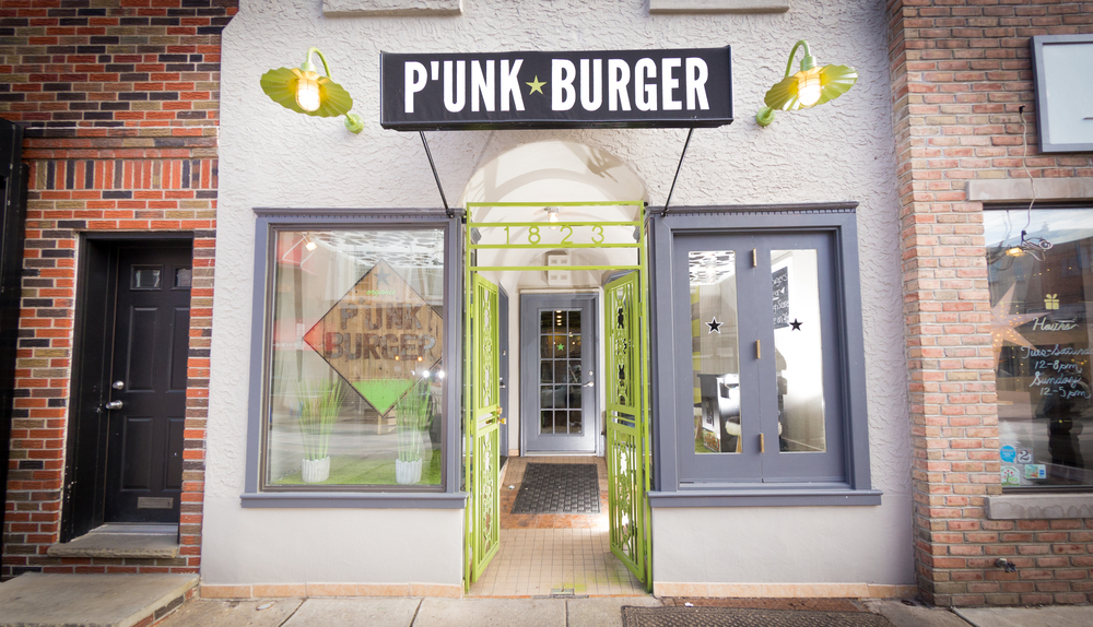 P'unk Burger, East Passyunk, Philadelphia, Burger, Shake, Restaurant, PR, Aversa PR, Marlo and Jason Dilks, SliCE pizza
