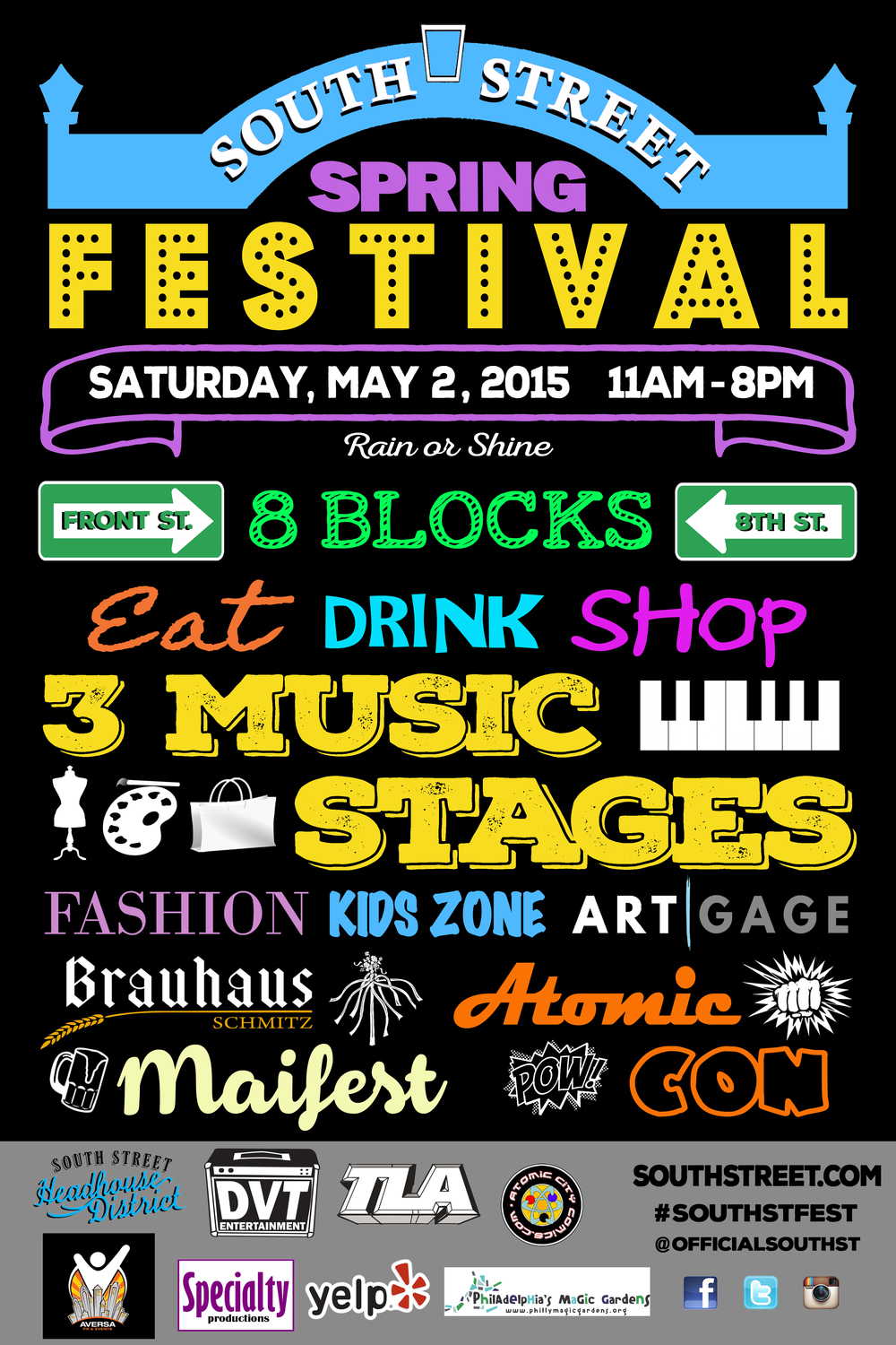 South street spring festival Saturday, May 2, 2015