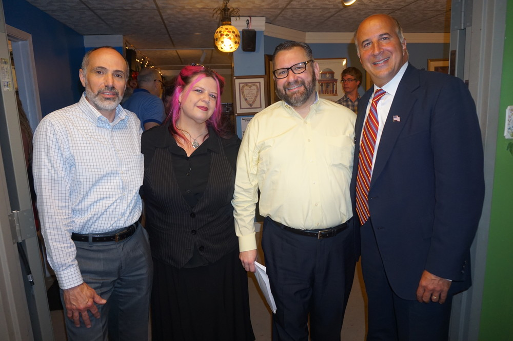 PAT Board Member Michael Gagliardi, PAT Co-Manager and Co-Founder Christina Kallas-Saritsoglou, PAT Board Member Roy DeLaMar,  Councilman Mark Squilla.JPG