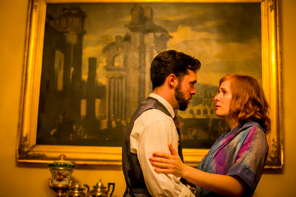 Irene (Rachel Brodeur) makes a difficult request of Jacques (Chase Byrd), Photo by Ashley LaBonde and Wide Eyed Studios (3).jpg