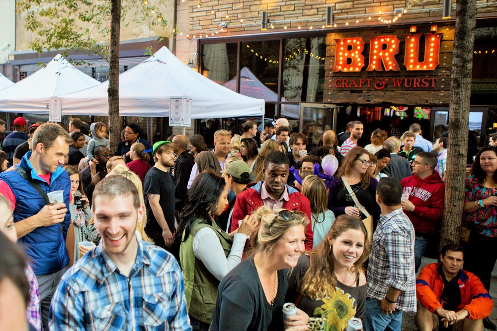 Bru Craft & Wurst, U-Bahn, Midtown Village Fall Festival, Aversa PR, Fall Festival, Philadelphia