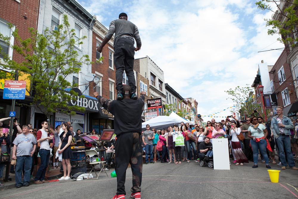 South Street Spring Festival, South Street, Spring Festival, 40 Bands, Live Music, Philadelphia, Philadelphia spring festival, spring fest