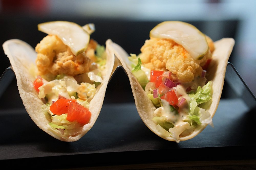 Revolution Taco, PoBoy, Flood Victims, Louisiana, Taco, Fried Oyster