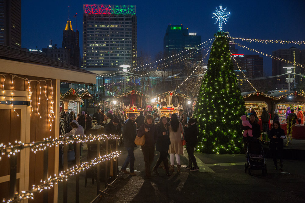 CHRISTMAS VILLAGE IN Baltimore Nov 24-Dec 24, 2016
