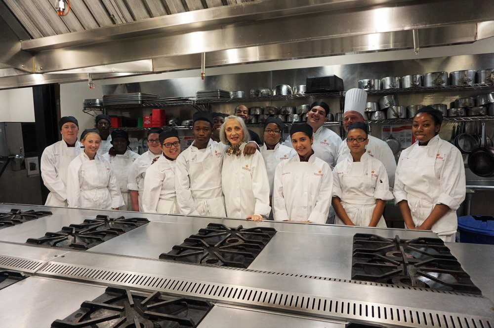 Les Dames d'Escoffier, culinary, Chef, Esther McManus, Restaurant School, Walnut Hill