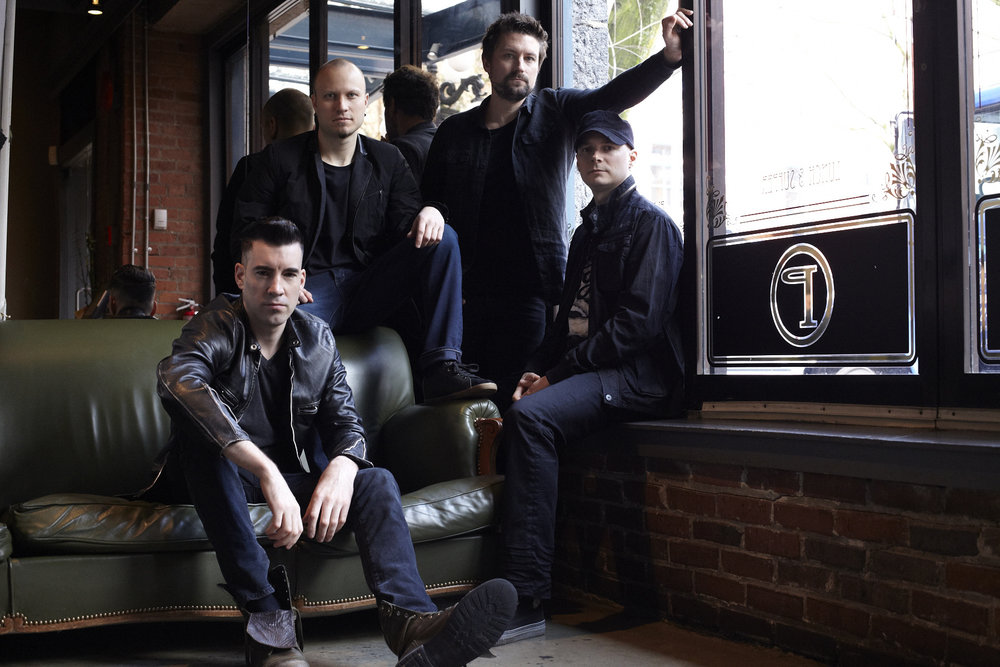 Theory of a Deadman at Valley Forge Casino Resort Saturday, December 2, 2016