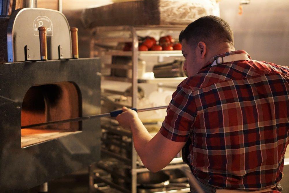Cinder, Opening, Jonathan Petruce, Chef