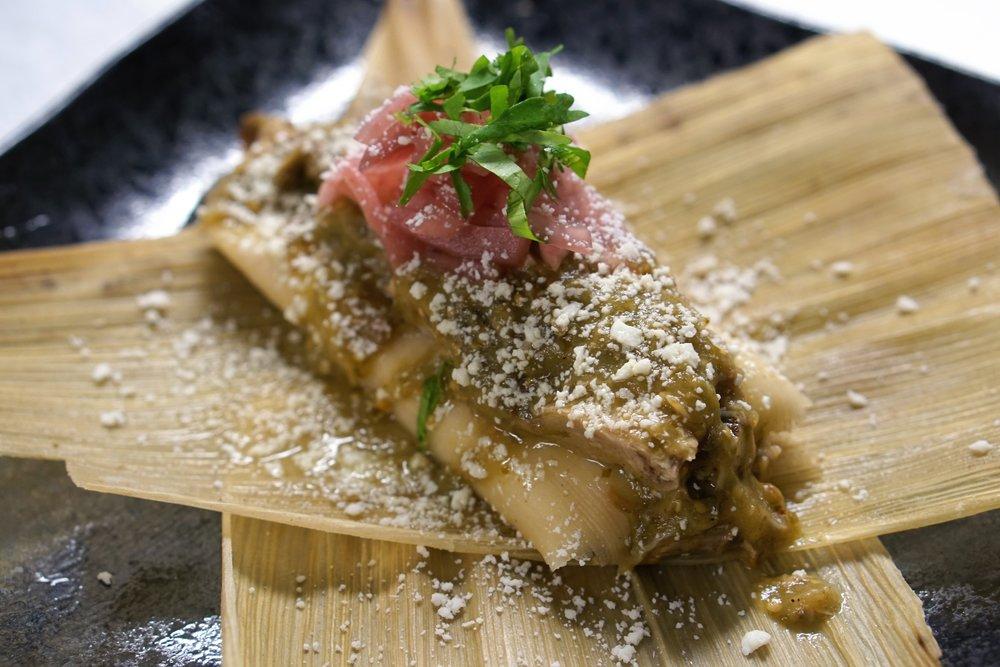 tamales, revolution taco