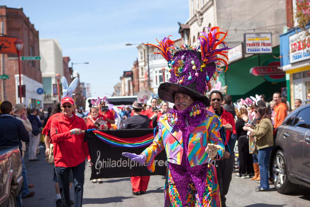 Philadelphia's 86th Easter Promenade, South Street Headhouse District