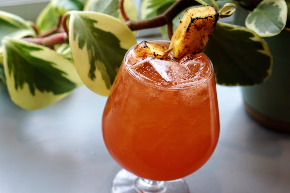 Michelle Curtis - Whetstone Tavern Papa's Punch In honor of Hemmingway's fishing nickname, this is a refreshing rum punch with flavors of basil, strawberry and pineapple. Perfect for drinking after a long day in the Florida sun.