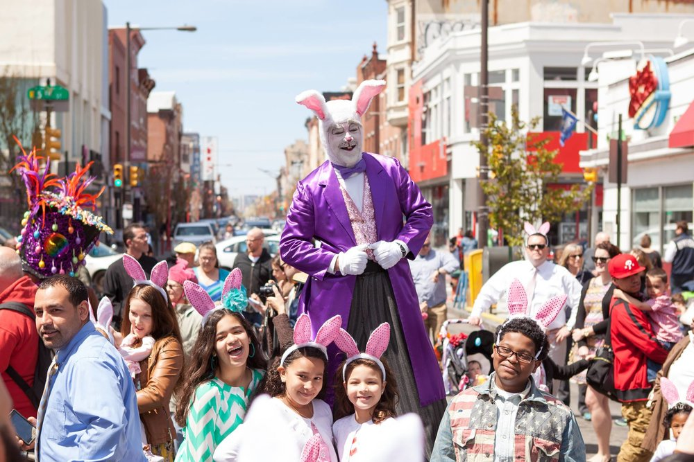 Sun April 16, 2017, 12:30pm   86th ANNUAL EASTER PROMENADE ON SOUTH STREET
