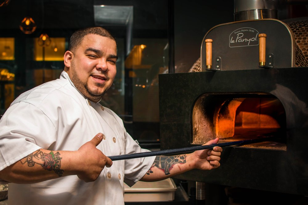 Oliver Muguia, Executive Chef, Cinder