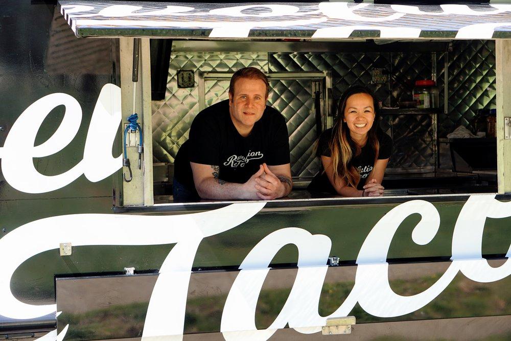 Revolution Taco Food Truck, 33rd street hospitality