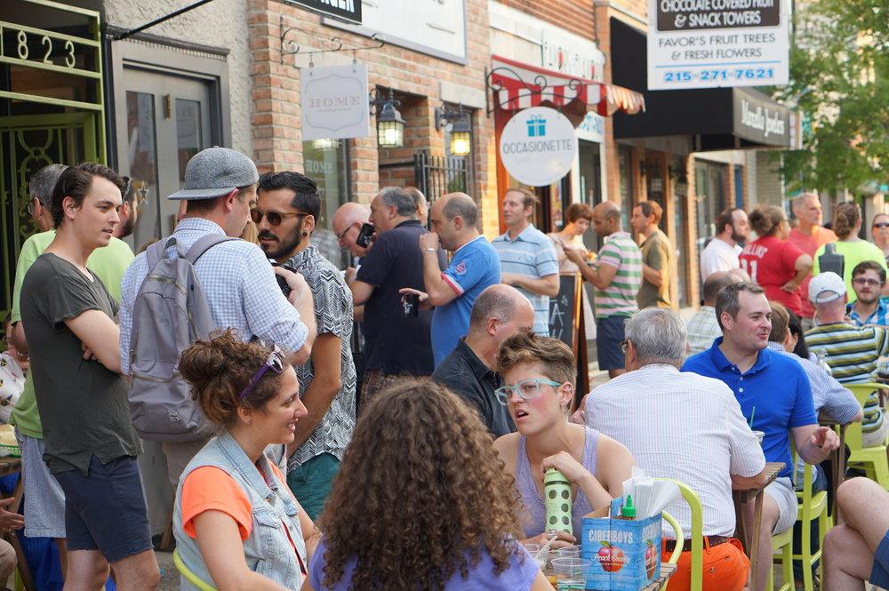 East Passyunk Flavors, East Passyunk Street Festival, P'unk Burger
