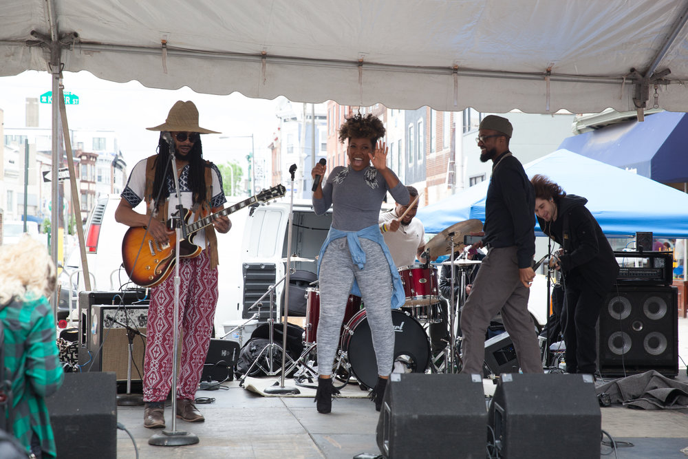 South Street Spring Fest, Johnny Popcorn, Fifth street stage