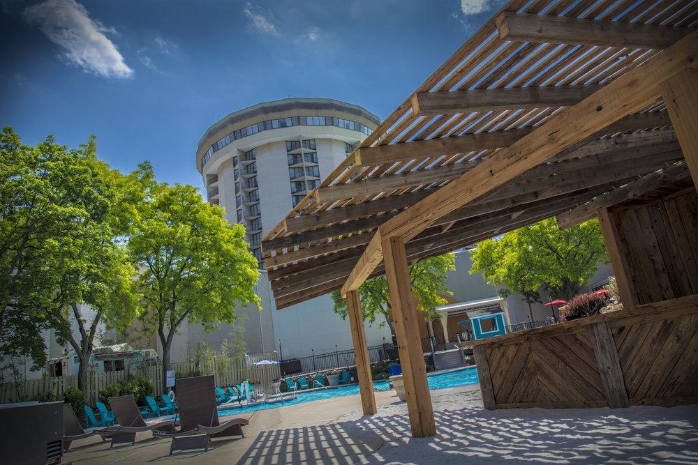 Valley Forge Casino Resort, Valley Beach, Tiki Bar