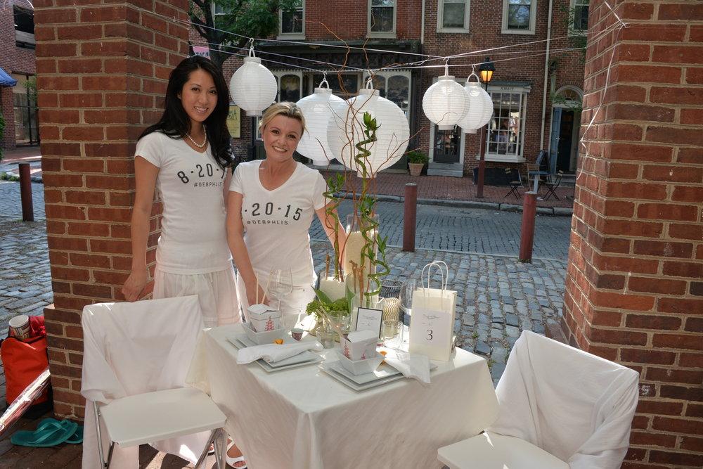 DEB, Diner En Blanc, sixth edition, preview party