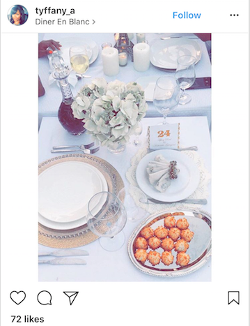We love the attention to detail with this spread, even the napkin looks picture perfect!