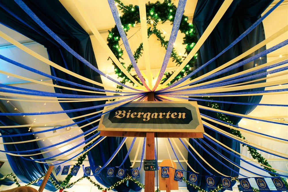 Christmas Village Baltimore Biergarten