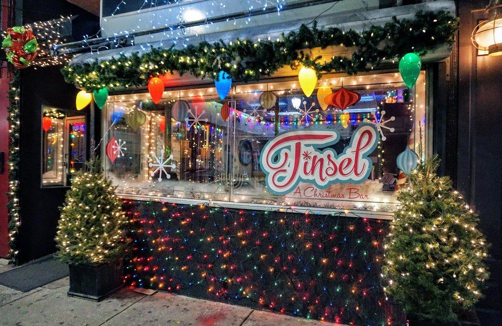 Philadelphia Christmas Bar Tinsel Brings Holiday Cheer to Center ...