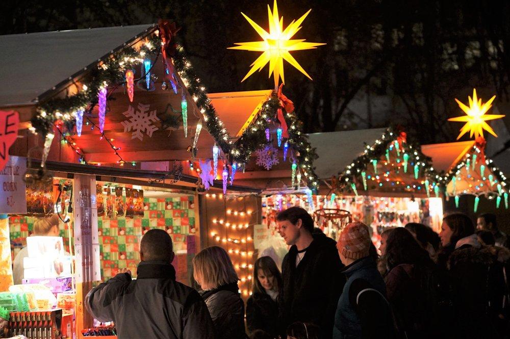 Christmas Village in Philadelphia