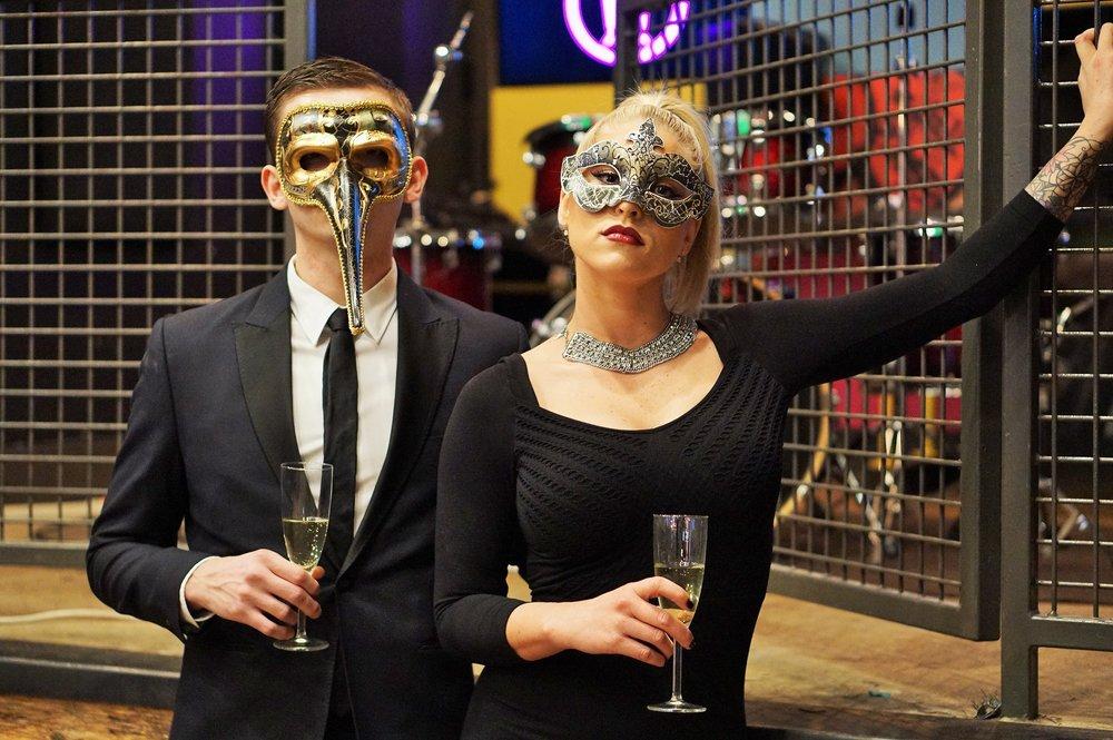 U-Bahn Masquerade NYE Party