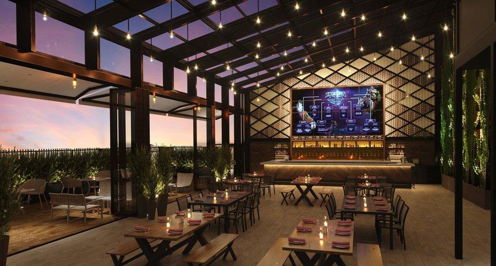 Parx Casino Indoor-Outdoor Beer Garden