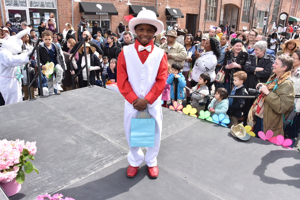 """Participant in """"Best Dressed Young Boy"""", 2018"""