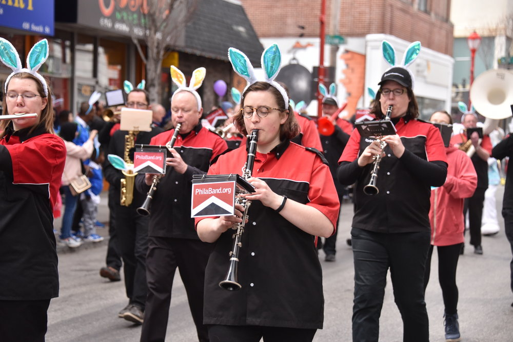 Band Performance, 2018 Easter Promenade; 87th Annual