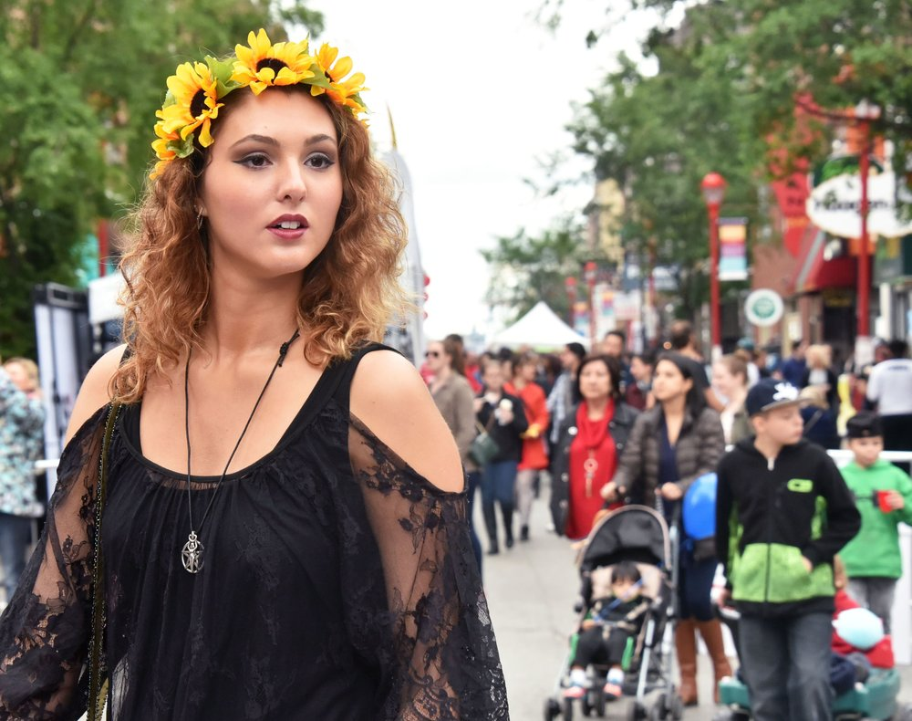 Flower Crown at South Street Spring Fest 2018