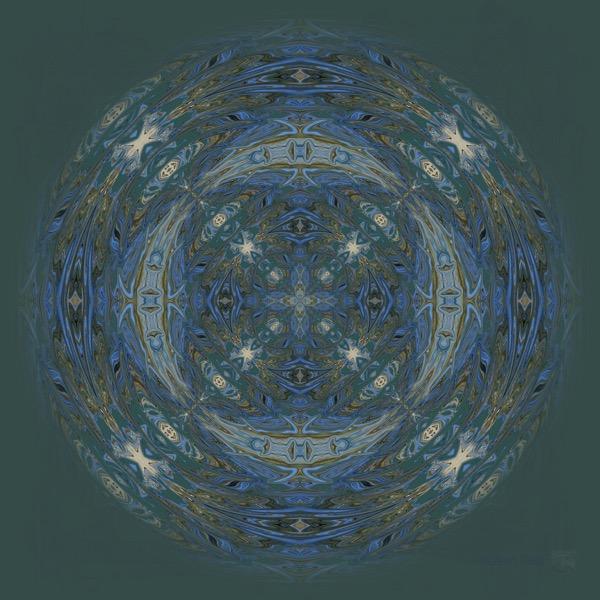 Great Blue Heron Mandala