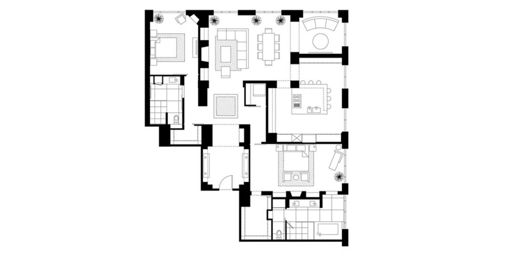 PROPOSED RESIDENCE LAYOUT