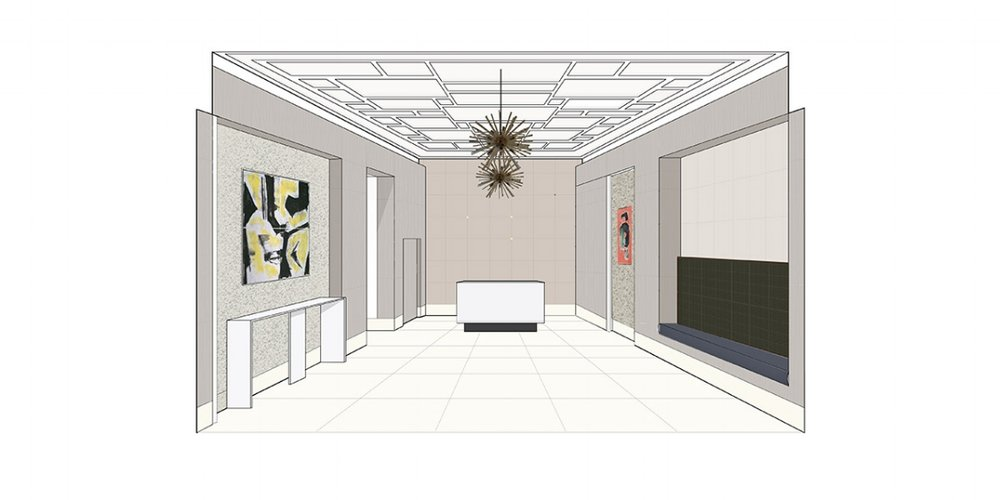 PROPOSED LOBBY - PERSPECTIVE