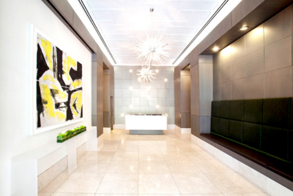 PROPOSED LOBBY - FINISHED PROJECT