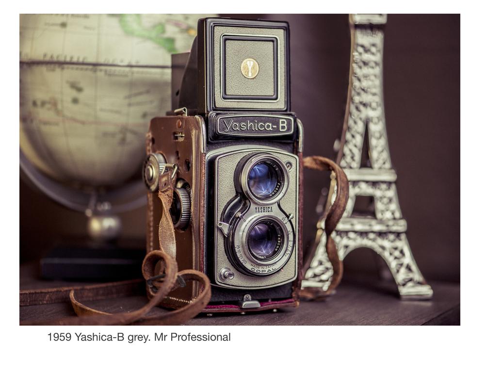 1959 Yashica-B grey. Mr Professional
