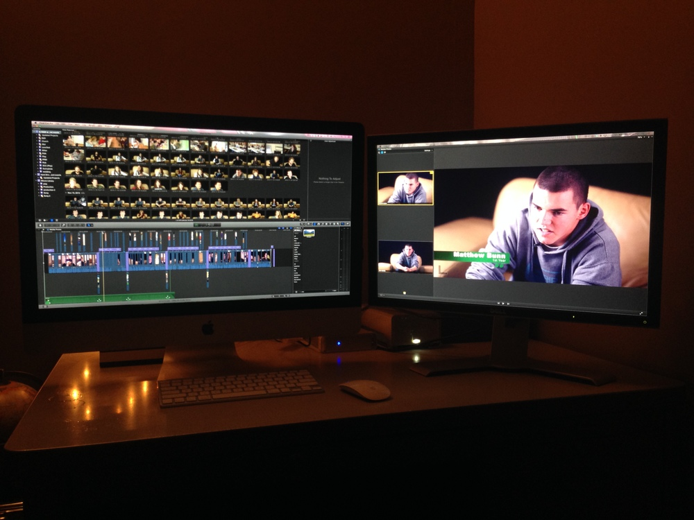 The Editing Bay!