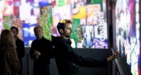 #creatorslive exhibited at Creators Project: SF & Paris Art installation integrating Kinect x Instagram. A collaboration between Social Print Studio x Intel.