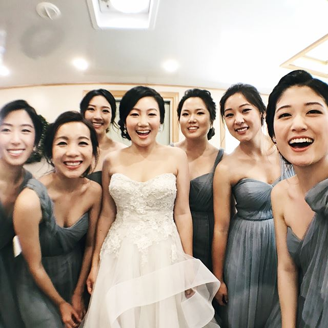 Spent this past weekend celebrating @noellemlee finally marrying @harryeun !! 😋💕Love you guys and I'm so thankful I got to be a part of celebrating you with such an amazing group of people. Still crazy to think about that one night when I convinced you to apply to UMich with me and how that helped lead, among many other acts of his providence, to this day! 😋