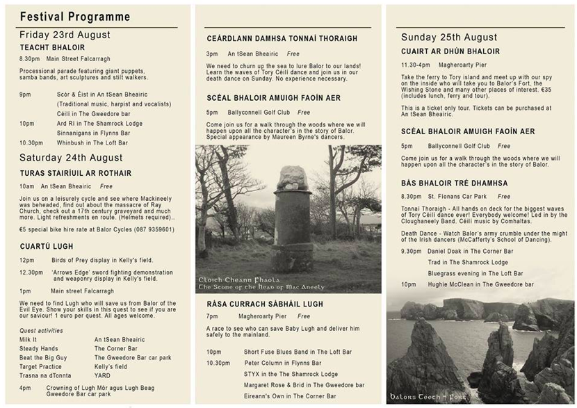 Full festival programme, click picfor facebook page