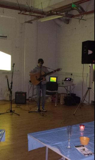 Joel Harkin playing a few tunes.